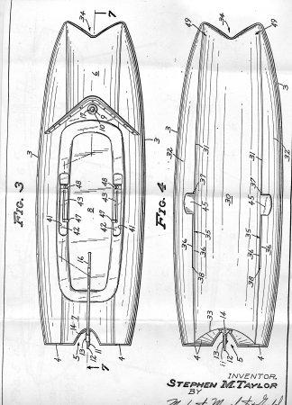 John Bond Marine 1 Typhoon Boat Sketch W M Atkin