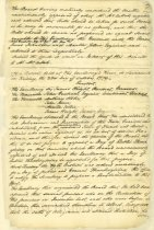 Image of Page from GA Governor and Councial Minutes