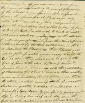Image of Letter from William to Thomas Gibbons March 23, 1820 (page 2)