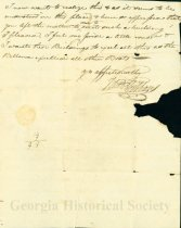 Image of Letter from William to Thomas Gibbons March 23, 1820 (page 3)