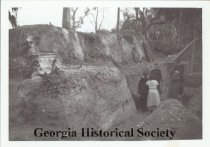 Image of Coastal Georgia Archaeology Society collection on the Irene Mound - Print, Photographic
