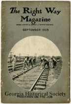 Image of Central of Georgia Railway Records - Right Way Magazines - Magazine