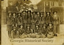 Image of Anne Mintz collection of Girl Scouts Troop 1 records - Print, Photographic