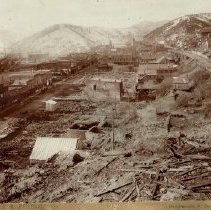 Image of Main Street After Fire of 1894 - 0070.014.001A&B
