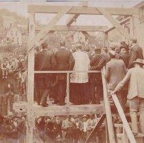 Image of Charles Brown (Isadore Cavanaugh)'s Hanging - 0070.087.002
