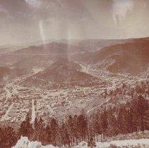 Image of Deadwood from White Rocks - 1880s-1890s