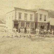 Image of Deadwood Hose Cart Team - 1880s