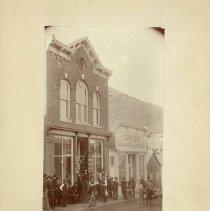 Image of Dickinson & Cornes Drugstore - 1888