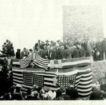 Image of Mount Roosevelt Memorial Dedication - July 4, 1919