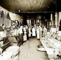 Image of Goldberg's Grocery, Interior - 1910-1920