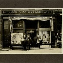 Image of The Bloom Shoe and Clothing Co. - June 1905