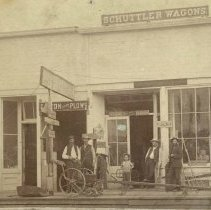 Image of Schuttler Wagon Building - 1870s-1880s