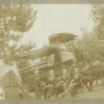 Image of The Moody Colportage Quartette - 1897