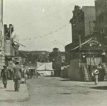 "Image of ""Tent of Lights,"" Deadwood Main Street - 0070.163.001"