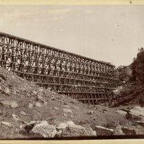 Image of Trestle for the Chicago, Burlington & Quincy Railroad  - 0070.239.001