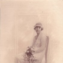 Image of Mary Thornby as a Bride - 1917