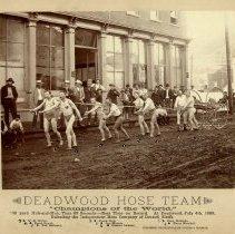 Image of Deadwood Hose Team - 1888