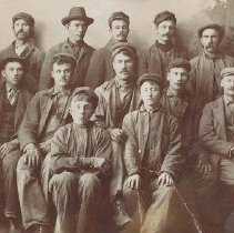 Image of Group of Norwegian Miners - 0010.006.001