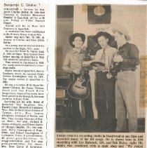 Image of Series, Archival - Papers regarding Benjamin and Helmi Stoller