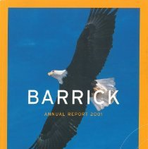 Image of Barrick Annual Report - 2001