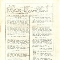 Image of Ter-Vil-Nus Newsletter, Vol. 1. No. 1 - December 6, 1929