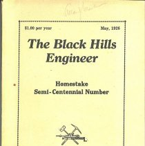 Image of Periodical - The Black Hills Engineer