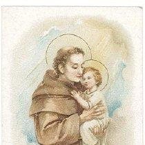 Image of Card, Prayer - Religious Card