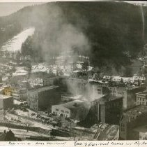Image of Deadwood City Hall and Deadwood Theater Fire - 0097.155.029