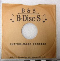 Image of Record, Phonograph - 1940s-1950s