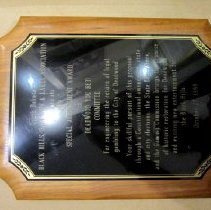Image of Plaque - October 27, 1989