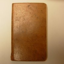 Image of Cemetery Burial and Account Book of Henry Robinson  - 1888-1894