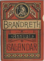 Image of 1879 Brandreth Annual Calendar - Brandreth, Benjamin, 1807-1880