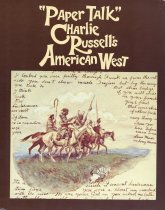 "Image of ""Paper Talk"": Charlie Russell's American West - Russell, Charles"