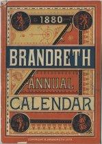 Image of 1880 Brandreth Annual Calendar - Brandreth, Benjamin, 1807-1880