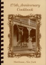 Image of 175th Anniversary cookbook a collection of recipes by Morehouse Women's Club Morehouse, NY 13353 - Morehouse Women's Club (Morehouse, N.Y.)