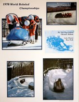 Image of 1978 World Bobsled Championships: Mt. Van Hoevenburg Olympic Bobrun Lake, New York [graphic] -