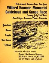 Image of 15th Annual Saranac Lake, New York Willard Hanmer Memorial Guideboat and Canoe Race -
