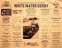 Image of 2nd Annual Au Sable Valley Chamber of Commerce, 4/29-30/1978 : White Water Derby - AuSable Valley Chamber of Commerce