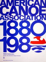 Image of 1880-1980: 100th Anniversary, Member of the United States Olympic Committee - American Canoe Association