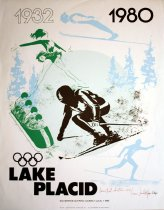 Image of 1932, 1980 Lake Placid: XIII Winter Olympic Games - U.S.A. - 1980. [graphic] - Van Alstyne, Lawrence