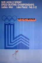 Image of 1978 World Sprint Speed Skating Championships, Ladies-Men, Lake Placid Feb. 11-12 [graphic] - Whitney, Robert W.
