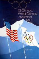 Image of XIII Olympic Winter Games Lake Placid 1980, Feb. 13-24 [graphic] - Whitney, Robert W.