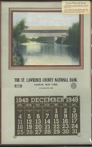 Image of 1949 [calendar] [graphic] - St. Lawrence County National Bank