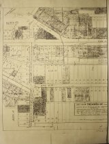 Image of 1950 Map of Thendara Way, Town Blocks 101-102-105-106-107-108-109-110-111 - Sperry, Louis N.