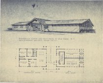Image of Information Center and Bath House at Old Forge, N.Y. - Wareham DeLair Architects