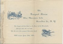 Image of The Prospect House : Blue Mountain Lake, Hamilton Co., N. Y. : The largest and best hotel in the heart of the Adirondacks. - Prospect House (Blue Mountain Lake, N.Y.)