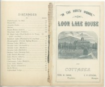 "Image of ""In the North Woods"" : Loon Lake House and Cottages - Loon Lake House (Loon Lake, N.Y.)"