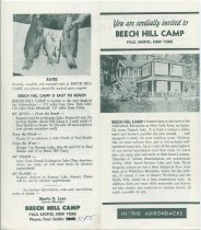 Image of You are Cordially Invited to Beech Hill Camp : Paul Smiths, New York - Beech Hill Camp (Paul Smiths, N.Y.)