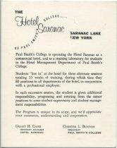 Image of [The Hotel Saranac, Saranac Lake, New York : Comment card] - Hotel Saranac (Saranac Lake, N.Y.)