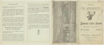 Image of 1886 : The Adirondacks : Saranac Lake House, Saranac Lake, N.Y. : Milo B. Miller, Proprietor : Unsurpassed Summer Resort for Sportsmen and Families - Saranac Lake House (Saranac Lake, N.Y.)